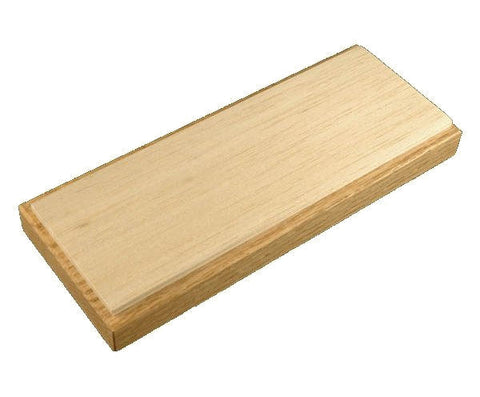 Balsa Wood Bench Hone