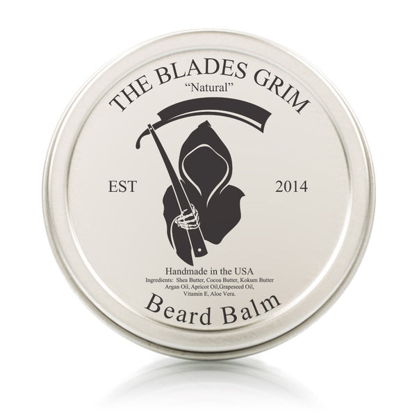 Natural Scent Beard Balm - By The Blades Grim