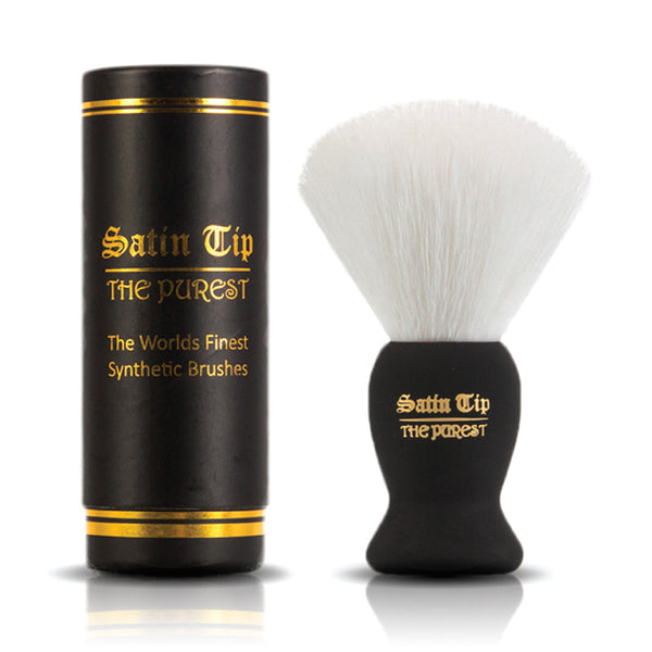Satin Tip - The Purest - Luxury Synthetic Shaving Brush White