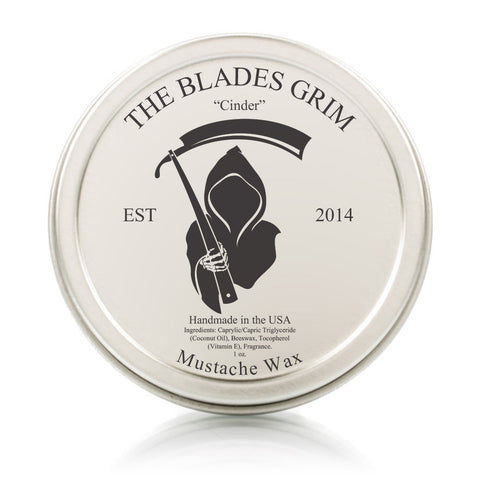 Mustache Wax Cinder - By The Blades Grim