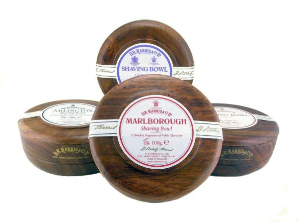 D.R. Harris & Co. - Triple-Milled Shaving Soap in Mahogany Bowl