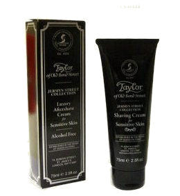Jermyn Street Collection Aftershave Cream For Sensitive Skin - 75 ml - Taylor of Old Bond Street