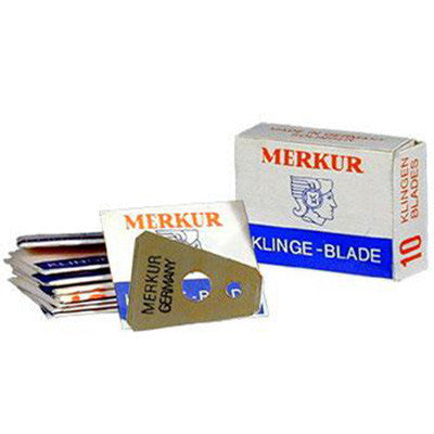 Merkur Blades for the Moustache Razor / Beard Trimmer - 10 Pack