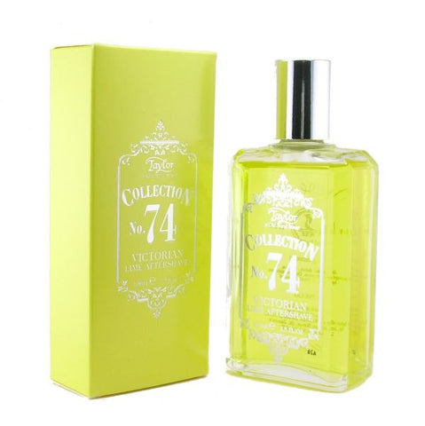 No. 74 Victorian Lime Aftershave Lotion - Taylor of Old Bond Street