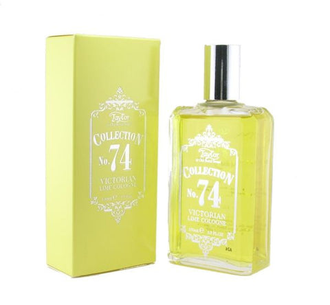 No. 74 Victorian Lime Cologne - Taylor of Old Bond Street