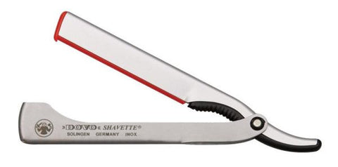 Dovo Shavette - Satin Stainless with Polished Stainless Steel