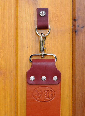 Vintage Blades Leather Strop Hanger