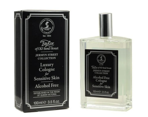 Jermyn Street Collection Cologne For Sensitive Skin - 100ml - Taylor of Old Bond Street ***Alcohol Free***