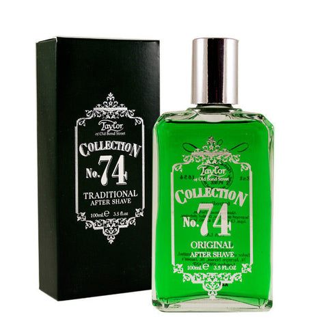 No. 74 Traditional Aftershave Lotion - Taylor of Old Bond Street