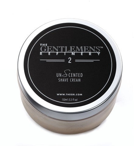 The Gentlemens Refinery - The Shave Cream - 150ml/5.3 oz. - Unscented