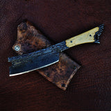 Dylan Farnham Custom Kamisori Razor - With Mammoth Ivory Handle