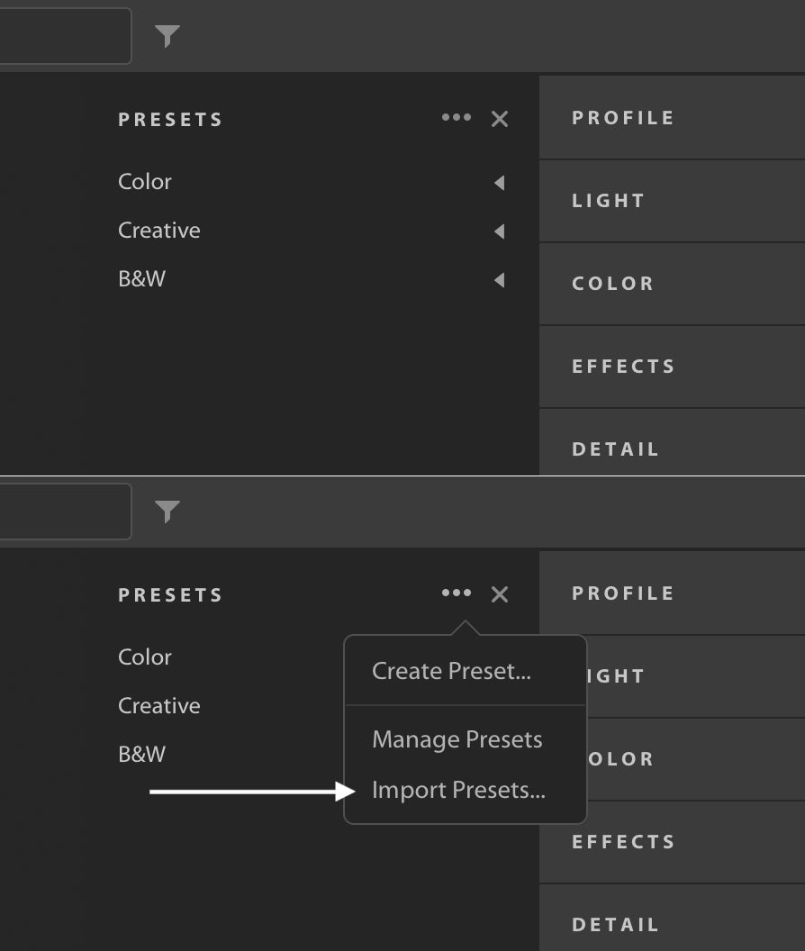 How to install presets in Adobe Lightroom – Verne Ho Photography