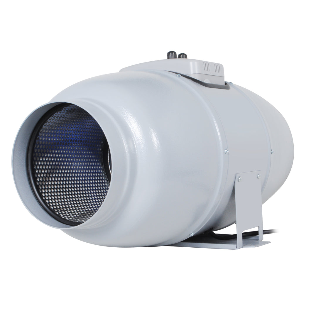 "Inline Duct Fan ""Silent Series"" 6 Inch, 327 CFM, 67W, Ultra Quiet Exhaust Fan, 33 dBA, 13.89 Lb"