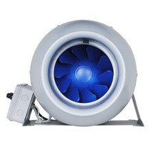 "Load image into Gallery viewer, Inline Duct Fan ""Silent Series"" 8 Inch, 473 CFM, 111W, Ultra Quiet Exhaust Fan, 36 dBA, 19.62 Lb"