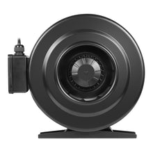 "Load image into Gallery viewer, 6"" 410 CFM Inline Fan With Variable Speed Controller. Centrifugal Metal Duct Blower"