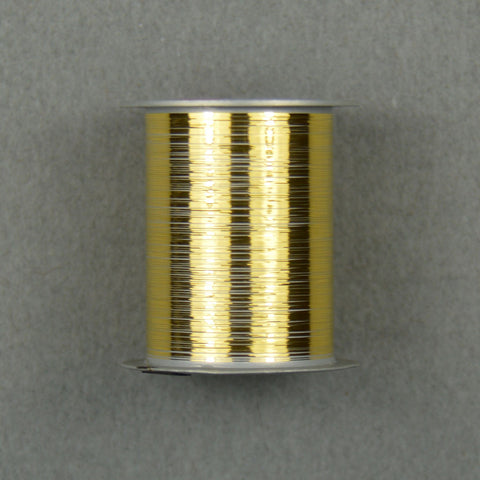 "Gold Bonding Ribbon, .003"" x .001"", 1/2"" Spool 50ft"