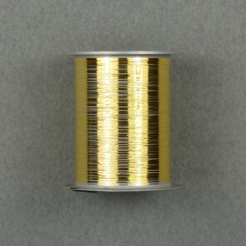 "Gold Bonding Ribbon, .003"" x .00025"", 1/2"" Spool 50ft"