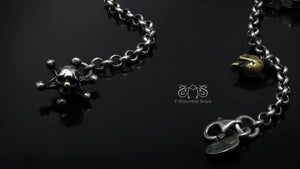 Joker Skull Bracelet | Abnormal Circus Collection