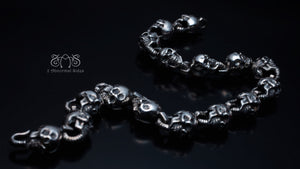 Skull M Type Bracelet | Standard Collection