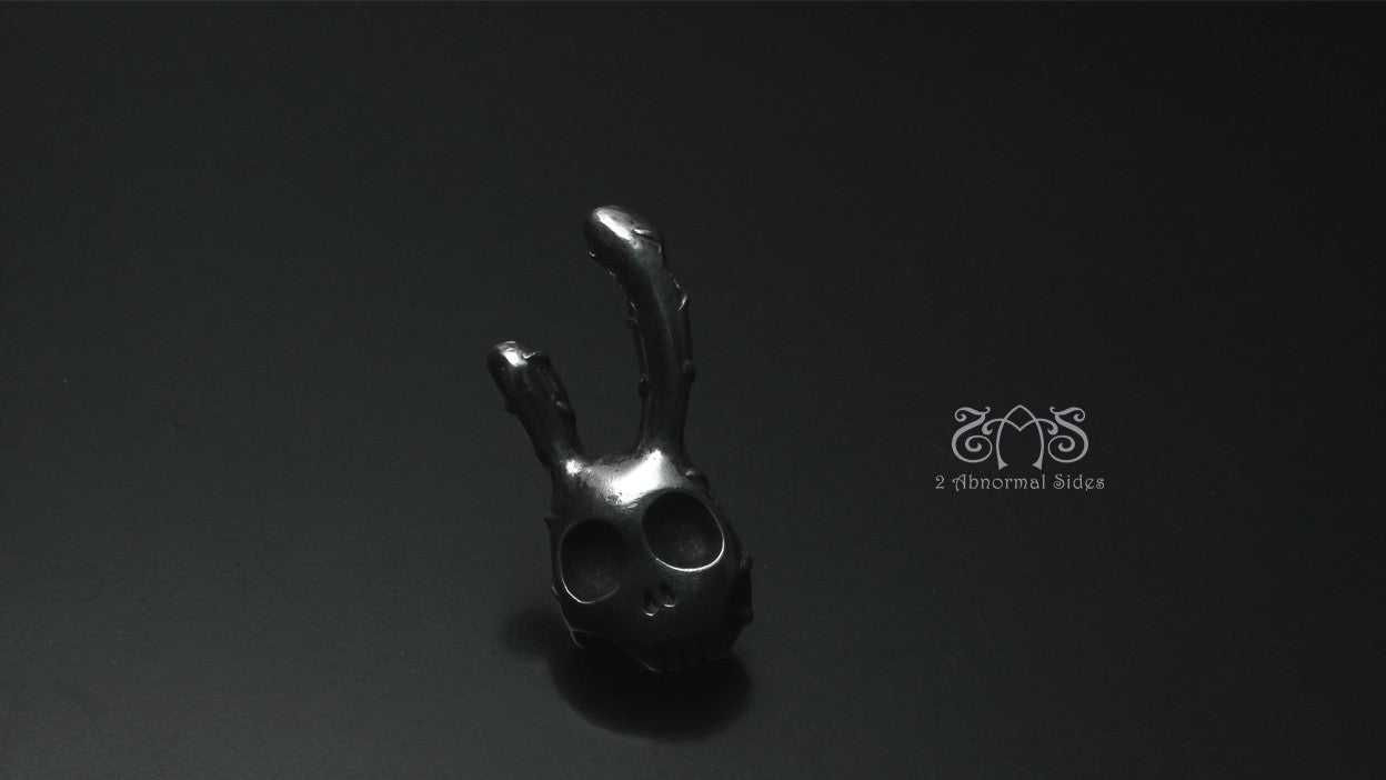 Double-sided RockRabbit Pendant L Type | Abnormal Circus Collection