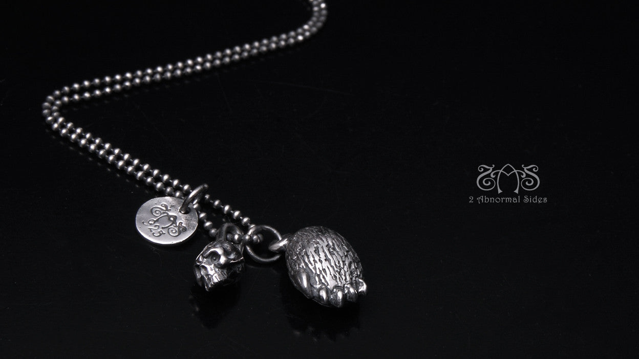 Double Bear & Skull pendant | | Abnormal Circus Collection