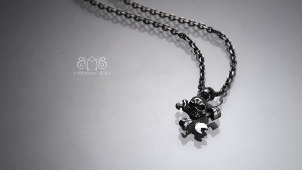 Persist Skull Pendant | Let's Ride Collection