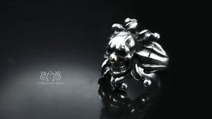Joker Skull Ring(L) | Abnormal Circus Collection
