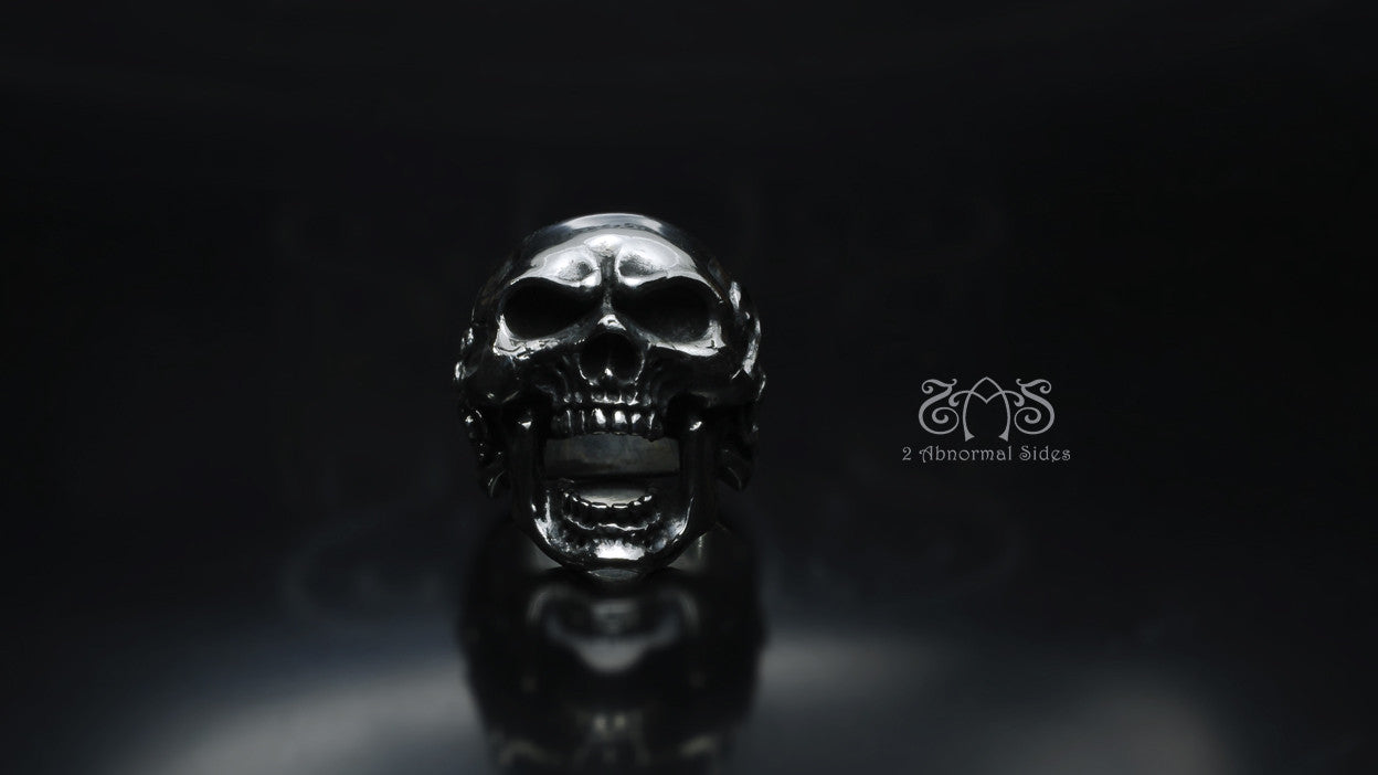 Roaring Skull Ring | Standard Collection