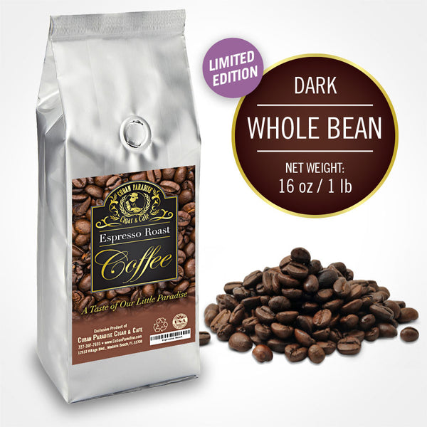 Espresso Roast Coffee - Whole Bean