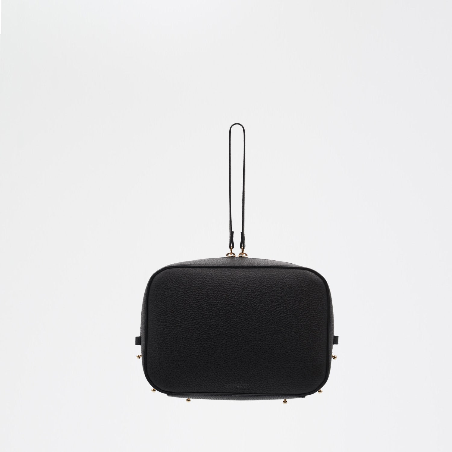 Boxy Bag Alex - TUMBLED BLACK