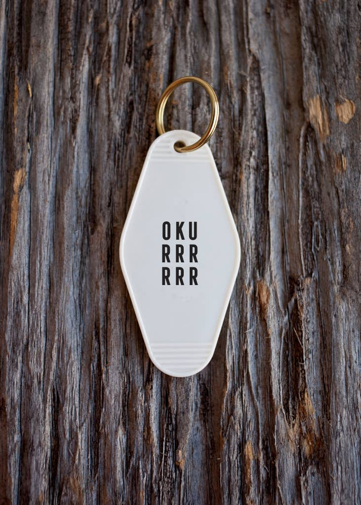 He Said, She Said - Okurrrrrr Motel Key Tag