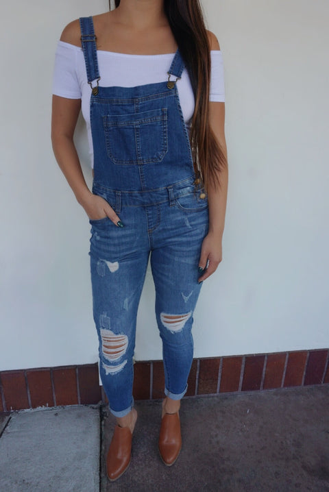 ANDI DENIM OVERALLS