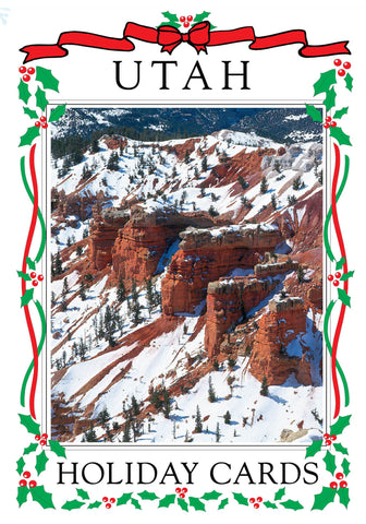 Utah Holiday Card Set