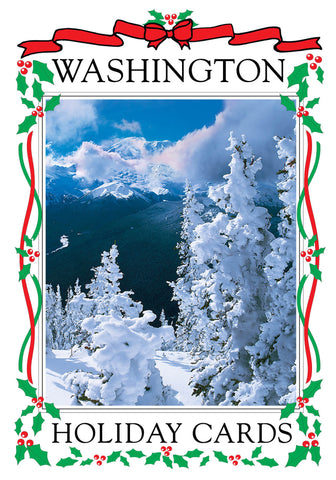 Washington Holiday Card Set