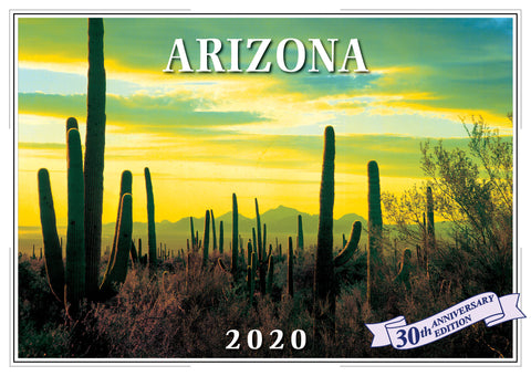 2020 Arizona Wall Calendar