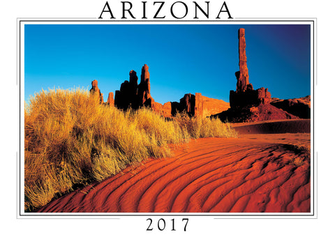 2017 Arizona Wall Calendar