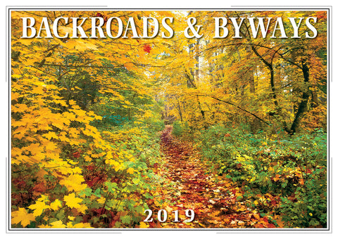 2019 Backroads & Byways Wall Calendar