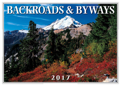 2017 Backroads & Byways Wall Calendar