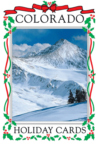 Colorado Holiday Card Set