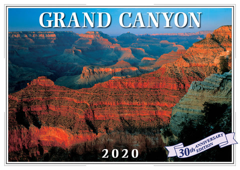 2020 Grand Canyon Wall Calendar
