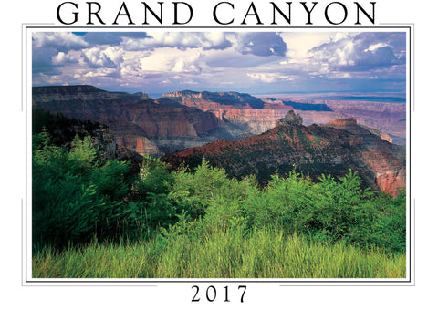 2017 Grand Canyon Wall Calendar