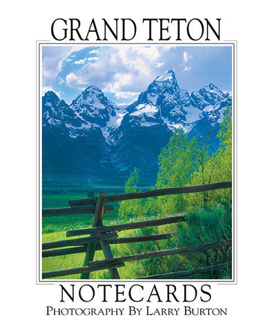 Grand Teton Note Card Set