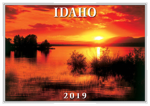 2019 Idaho Wall Calendar