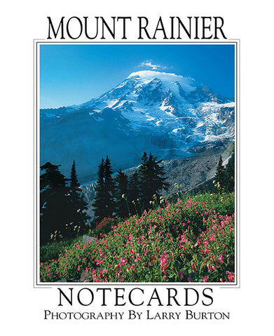 Mount Rainier Note Card Set