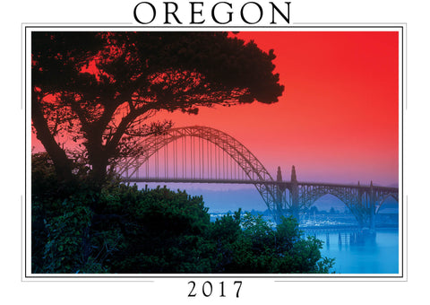 2017 Oregon Wall Calendar