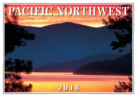 2018 Pacific Northwest Wall Calendar