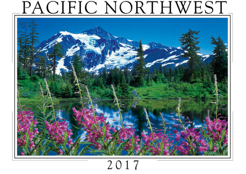 2017 Pacific Northwest Wall Calendar