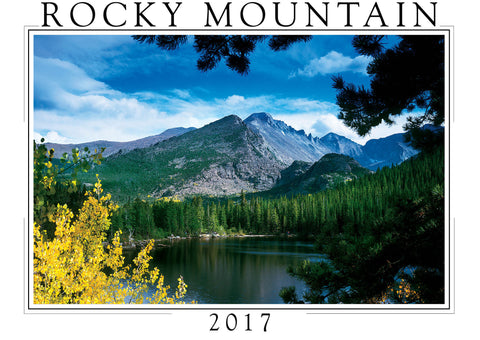 2017 Rocky Mountain Wall Calendar