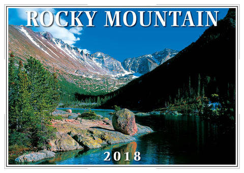 2018 Rocky Mountain Wall Calendar