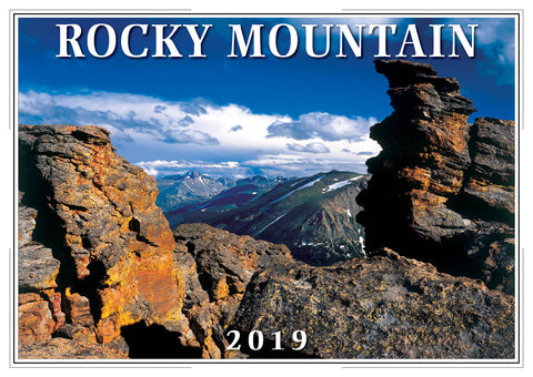 2019 Rocky Mountain Wall Calendar